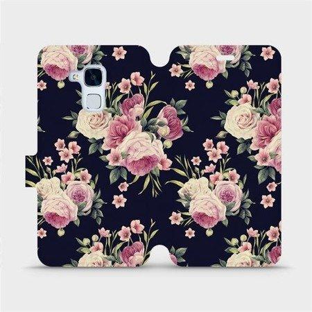 Flipové pouzdro Mobiwear na mobil Honor 7 Lite - V068P Růžičky