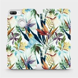 Flipové pouzdro Mobiwear na mobil Honor 9 Lite - M071P Flóra