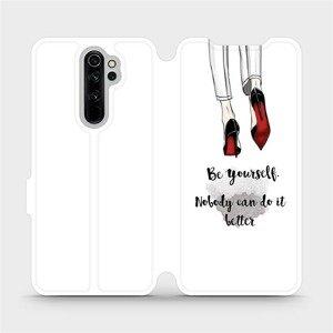 Flipové pouzdro Mobiwear na mobil Xiaomi Redmi Note 8 Pro - M046P Be yourself
