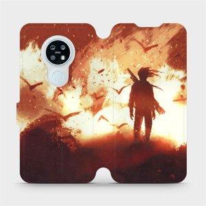 Flipové pouzdro Mobiwear na mobil Nokia 6.2 - MA06S Postava v ohni
