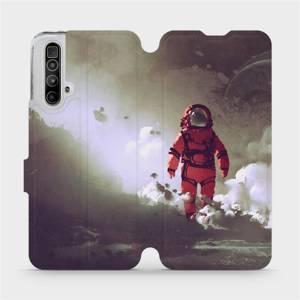 Flipové pouzdro Mobiwear na mobil Realme X3 SuperZoom - MA07S Týpek ve skafandru