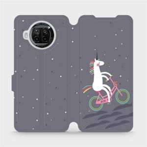 Flipové pouzdro Mobiwear na mobil Xiaomi MI 10T Lite - V024P Jednorožec na kole