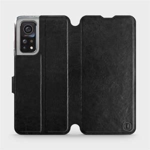 Flipové pouzdro Mobiwear na mobil Xiaomi MI 10T Pro v provedení C_BLS Black&Gray s šedým vnitřkem