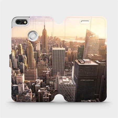 Flipové pouzdro Mobiwear na mobil Huawei P9 Lite mini - M138P New York