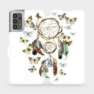 Flip pouzdro Mobiwear na mobil Samsung Galaxy A32 LTE - M001P Lapač a motýlci