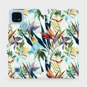Flip pouzdro Mobiwear na mobil Realme C21 - M071P Flóra