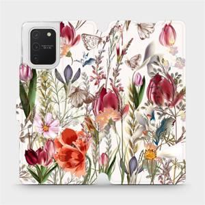 Flip pouzdro Mobiwear na mobil Samsung Galaxy S10 Lite - MP01S Rozkvetlá louka