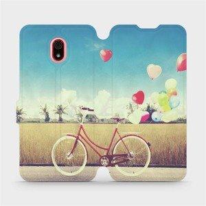 Flipové pouzdro Mobiwear na mobil Xiaomi Redmi 8a - M133P Kolo a balónky