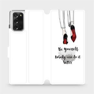 Flipové pouzdro Mobiwear na mobil Samsung Galaxy Note 20 - M046P Be yourself