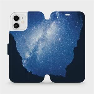Flipové pouzdro Mobiwear na mobil Apple iPhone 12 - M146P Galaxie