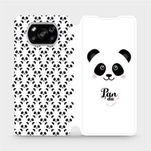 Flipové pouzdro Mobiwear na mobil Xiaomi POCO X3 NFC - M030P Panda Amálka