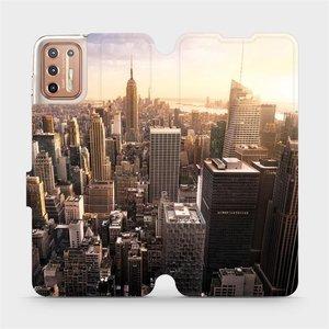 Flipové pouzdro Mobiwear na mobil Motorola Moto G9 Plus - M138P New York