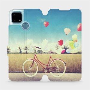 Flip pouzdro Mobiwear na mobil Realme 7i - M133P Kolo a balónky