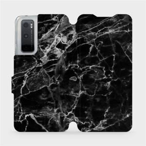 Flipové pouzdro Mobiwear na mobil Vivo Y70 - V056P Černý mramor