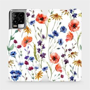 Flip pouzdro Mobiwear na mobil Realme 8 - MP04S Luční kvítí