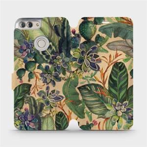 Flip pouzdro Mobiwear na mobil Huawei P Smart - VP05S Sukulenty