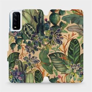 Flip pouzdro Mobiwear na mobil Vivo Y11S - VP05S Sukulenty