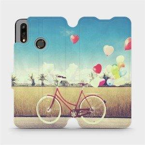 Flipové pouzdro Mobiwear na mobil Huawei P Smart 2019 - M133P Kolo a balónky