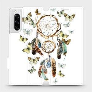 Flipové pouzdro Mobiwear na mobil Sony Xperia 5 - M001P Lapač a motýlci
