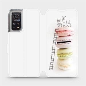 Flipové pouzdro Mobiwear na mobil Xiaomi MI 10T Pro - M090P Makronky - have a nice day