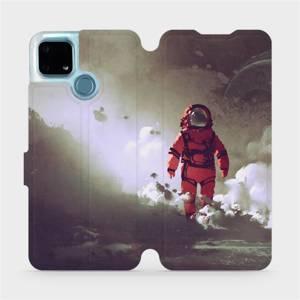 Flip pouzdro Mobiwear na mobil Realme 7i - MA07S Týpek ve skafandru
