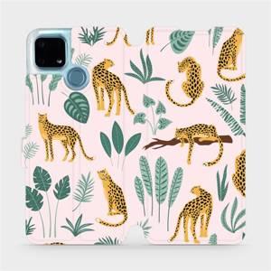 Flip pouzdro Mobiwear na mobil Realme 7i - MP07S Leopardi