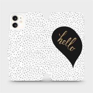 Flipové pouzdro Mobiwear na mobil Apple iPhone 11 - M013P Golden hello