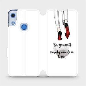 Flipové pouzdro Mobiwear na mobil Huawei Y6S - M046P Be yourself