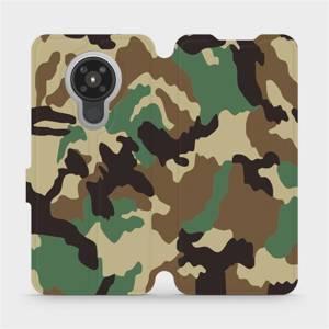 Flipové pouzdro Mobiwear na mobil Nokia 5.3 - V111P Maskáče