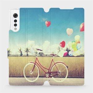 Flipové pouzdro Mobiwear na mobil LG Velvet - M133P Kolo a balónky