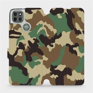 Flipové pouzdro Mobiwear na mobil Motorola Moto G9 Power - V111P Maskáče