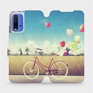 Flipové pouzdro Mobiwear na mobil Xiaomi Redmi 9T - M133P Kolo a balónky