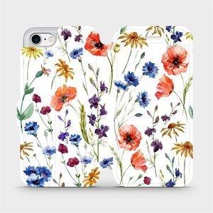 Flip pouzdro Mobiwear na mobil Apple iPhone 7 - MP04S Luční kvítí
