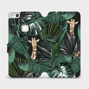Flip pouzdro Mobiwear na mobil Huawei P10 Lite - VP06P Žirafky