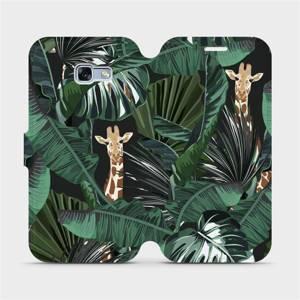 Flip pouzdro Mobiwear na mobil Samsung Galaxy A5 2017 - VP06P Žirafky