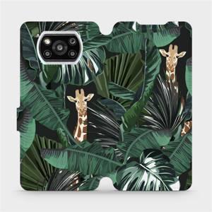 Flip pouzdro Mobiwear na mobil Xiaomi POCO X3 Pro - VP06P Žirafky