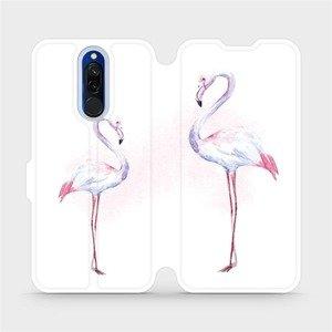 Flipové pouzdro Mobiwear na mobil Xiaomi Redmi 8 - M005S Plameňáci