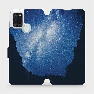Flipové pouzdro Mobiwear na mobil Samsung Galaxy A21S - M146P Galaxie