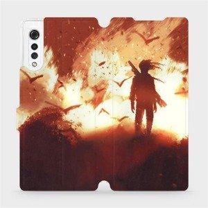 Flipové pouzdro Mobiwear na mobil LG Velvet - MA06S Postava v ohni