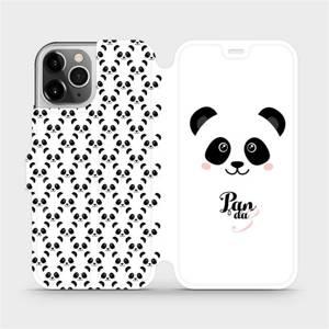Flipové pouzdro Mobiwear na mobil Apple iPhone 12 Pro - M030P Panda Amálka