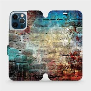 Flipové pouzdro Mobiwear na mobil Apple iPhone 12 Pro Max - V061P Zeď