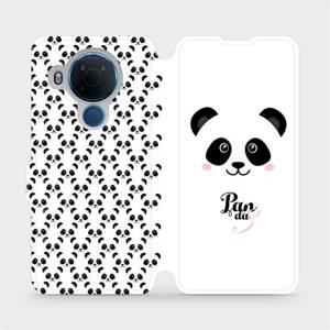 Flipové pouzdro Mobiwear na mobil Nokia 5.4 - M030P Panda Amálka