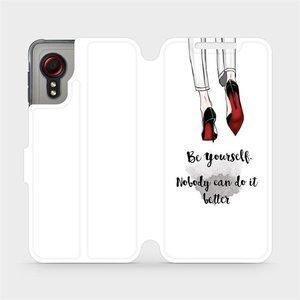 Flipové pouzdro Mobiwear na mobil Samsung Galaxy Xcover 5 - M046P Be yourself