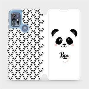 Flipové pouzdro Mobiwear na mobil Motorola Moto G20 - M030P Panda Amálka