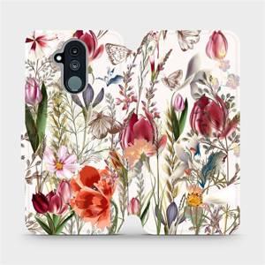 Flip pouzdro Mobiwear na mobil Huawei Mate 20 Lite - MP01S Rozkvetlá louka