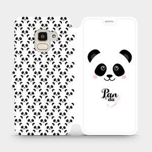 Flipové pouzdro Mobiwear na mobil Samsung Galaxy J6 2018 - M030P Panda Amálka