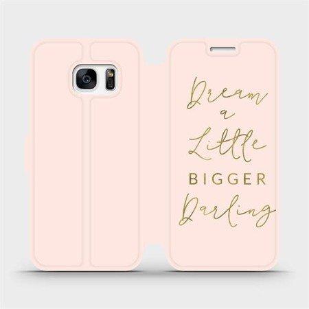 Flipové pouzdro Mobiwear na mobil Samsung Galaxy S7 Edge - M014S Dream a little