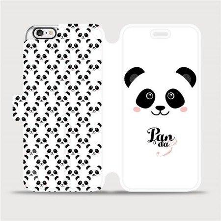 Flipové pouzdro Mobiwear na mobil Apple iPhone 6 / iPhone 6s - M030P Panda Amálka