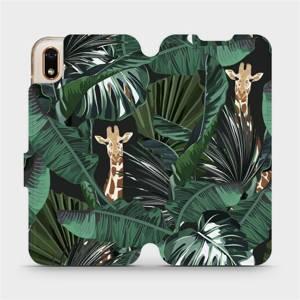 Flip pouzdro Mobiwear na mobil Huawei Y5 2019 / Honor 8S - VP06P Žirafky