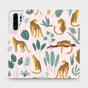 Flip pouzdro Mobiwear na mobil Huawei P30 Pro - MP07S Leopardi